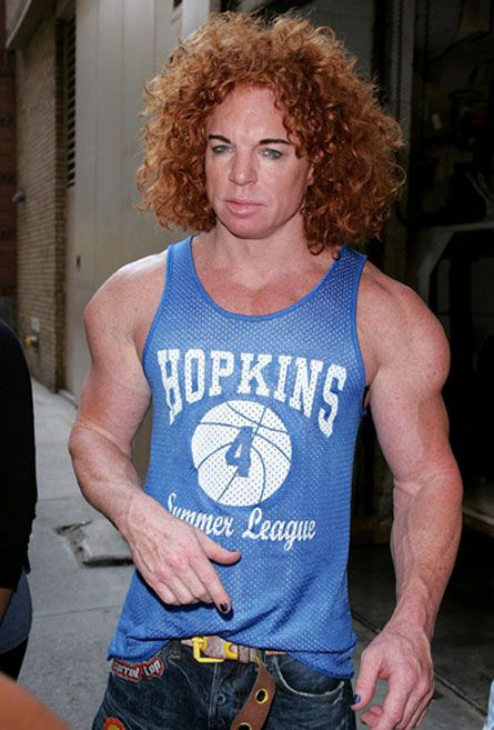 Carrot Top is on Steroids