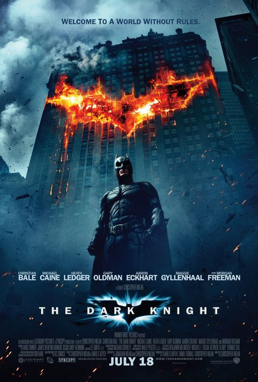 Dark Knight movie poster reveiw