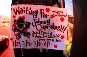 Grand Opening Johnny Cupcakes Los Angeles