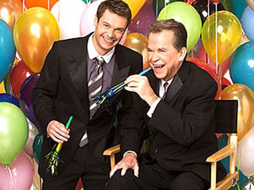 Dick Clark & Ryan Seacrest