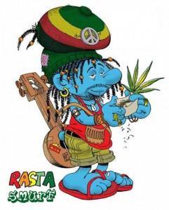 Rasta-Smurf