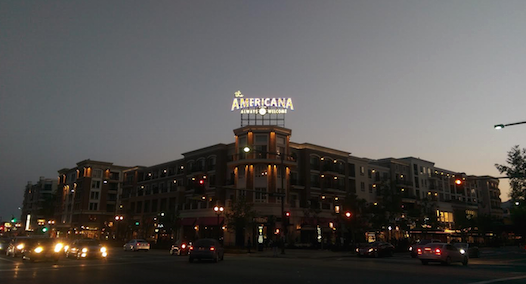 Americana Mall Glendale